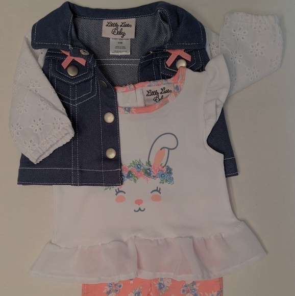 Girl's spring outfit (3 pieces)